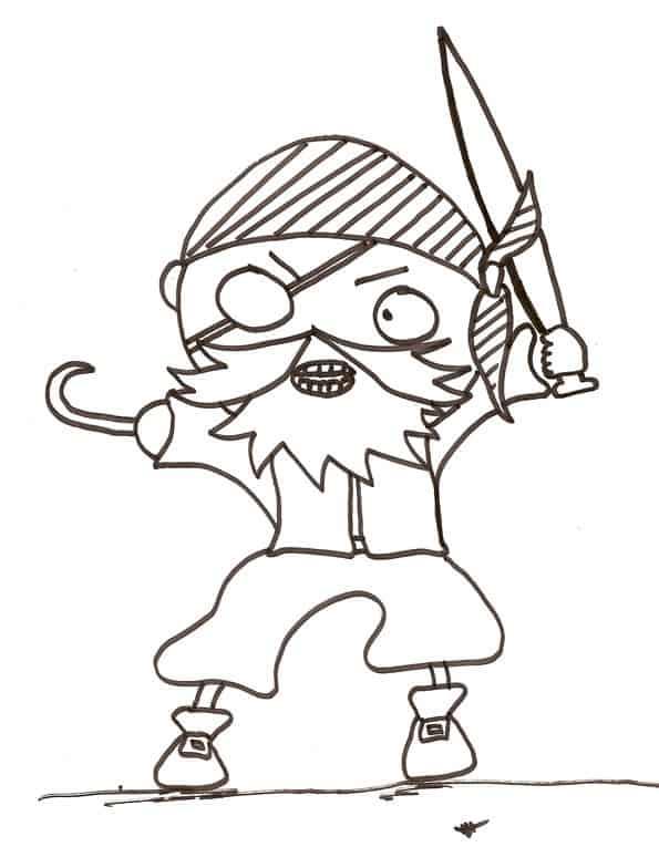 Disegni Di Pirati Da Colorare Cose Per Crescere