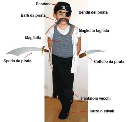 Costume da pirata fai da te - Come creare un vestito di pirata a4f388a5c9b