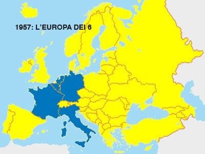 1973 L EUROPA DEI 9 I 27 Paesi Dell 39unione Europea Cose Per Crescere