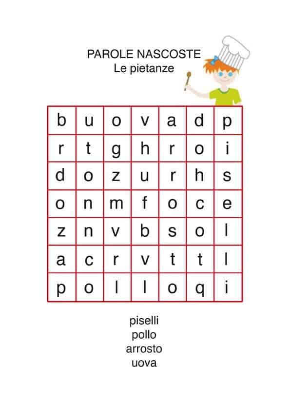 Bien connu Esercizi italiano per la seconda elementare JC56