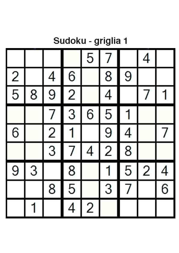 Top Sudoku per bambini terza, quarta e quinta elementare WK32