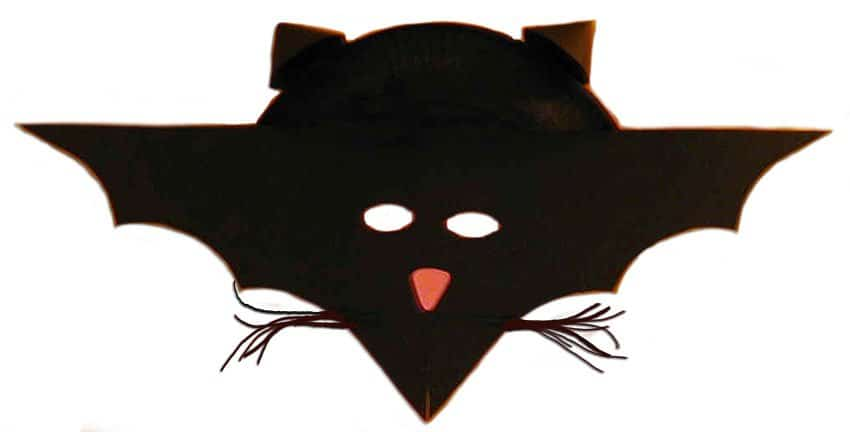Maschera da pipistrello cose per crescere - Tete de citrouille pour halloween ...