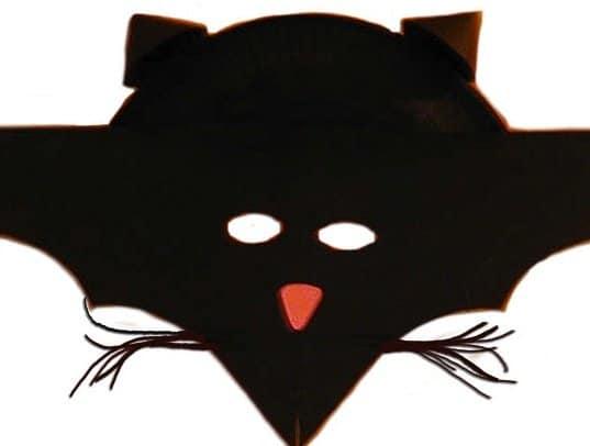 Maschera da tigre cose per crescere - Contorno immagine di pipistrello ...