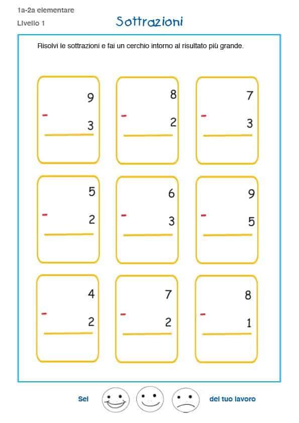 Top Matematica bambini 6 anni - Cose Per Crescere - QD19