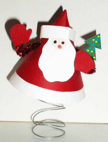 Babbo Natale Lavoretti.Babbo Natale Molleggiato Cose Per Crescere