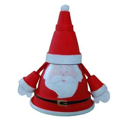 Babbo Natale In Terracotta Cose Per Crescere