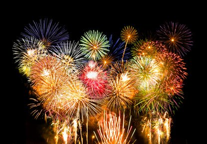 Fireworks composition