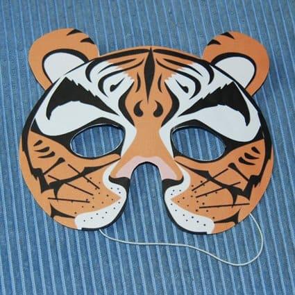 Maschera Da Tigre Cose Per Crescere