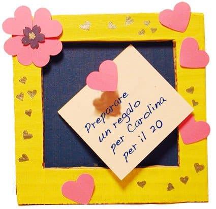 Pro memoria quadretto for Cose in regalo usato