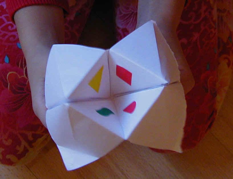 origami per imparare le addizioni cose per crescere. Black Bedroom Furniture Sets. Home Design Ideas