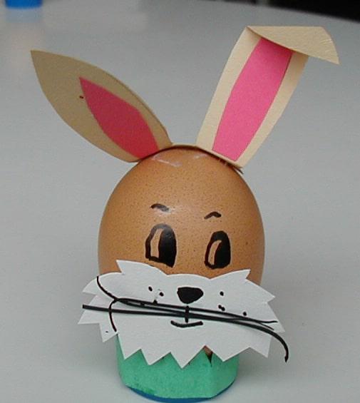 Un Uovo Coniglietto Per Pasqua Cose Per Crescere