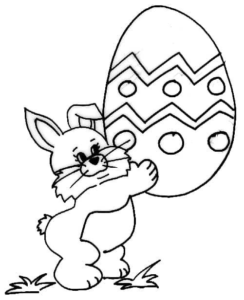 Super Disegni di conigli per Pasqua - Cose Per Crescere BU22