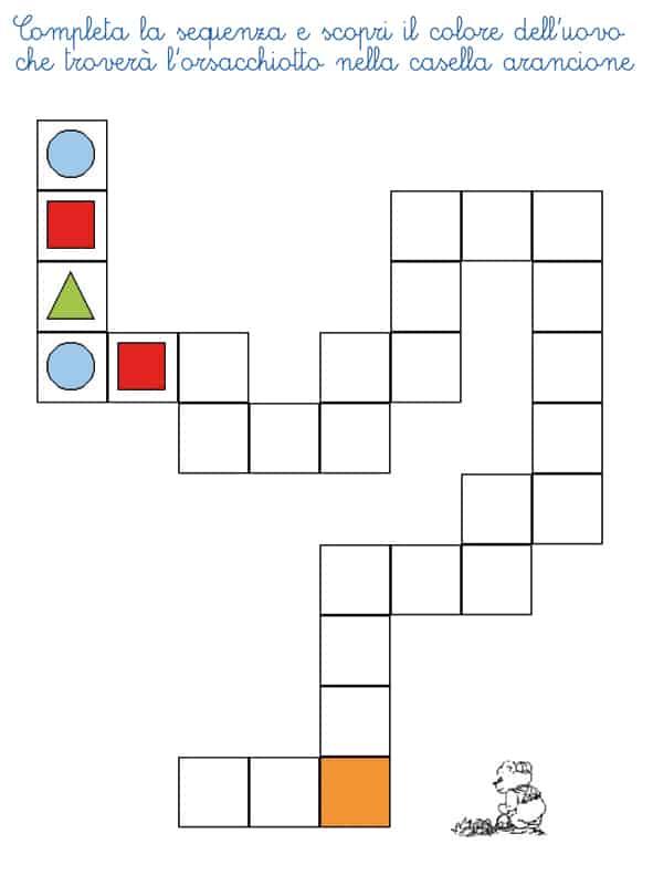 Popolare Giochi di logica pasquali - Cose Per Crescere TU14