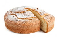 yogurt cake sliced - torta allo yogurt