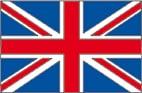 Bandiera inglese da colorare