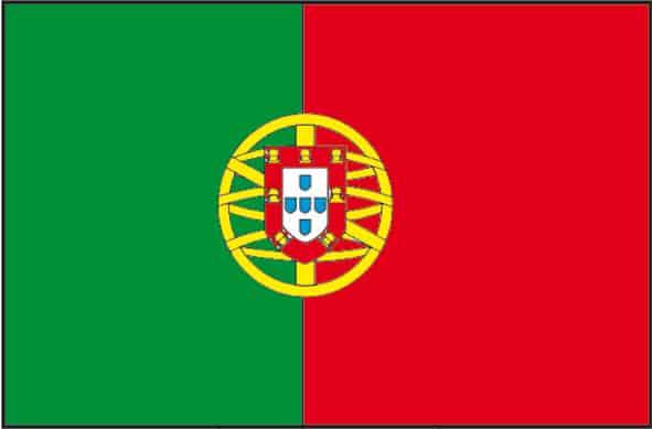 Cartina Del Portogallo Da Stampare.Bandiera Del Portogallo Da Colorare Cose Per Crescere