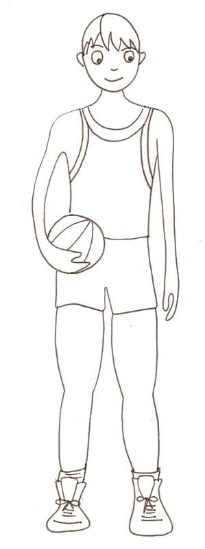 Disegni Da Colorare Basket Stampae Colorare