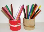Porta matite in cartone ondulato