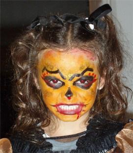 Trucco Halloween Per Bambini Da Strega.Trucco Da Strega Di Halloween Cose Per Crescere