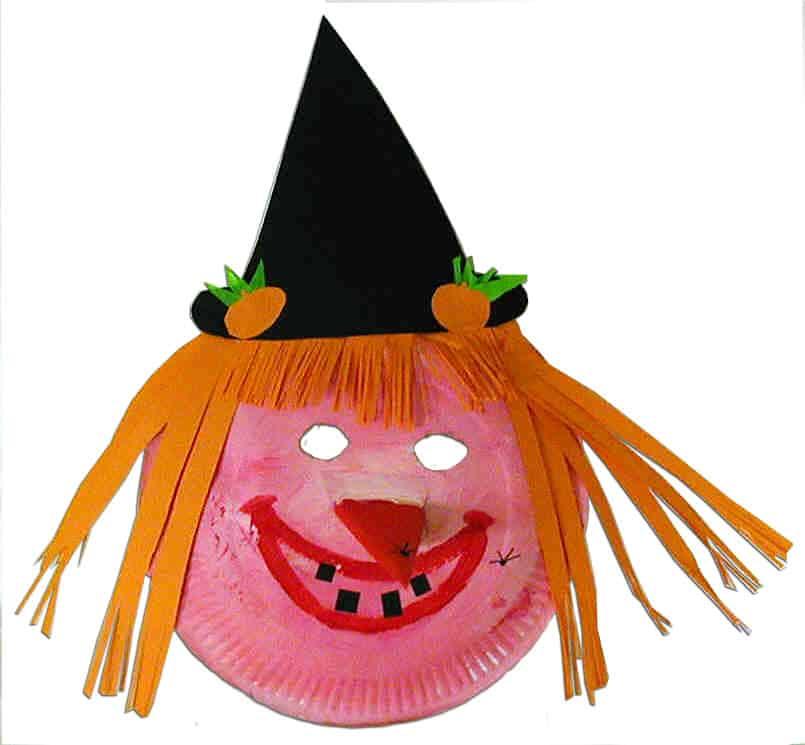 Maschera da strega per bambini