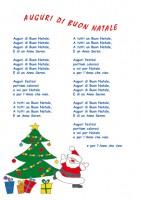 Auguri Di Buon Natale Canzone In Italiano.Auguri Di Buon Natale Cose Per Crescere