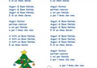 Testo Canzone Auguri Di Buon Natale.Auguri Di Buon Natale Cose Per Crescere