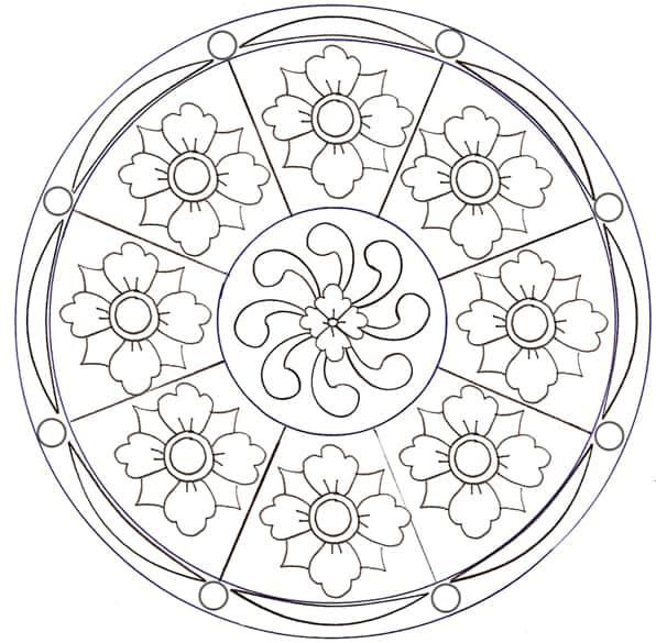 Mandala Degli Otto Fiori Cose Per Crescere
