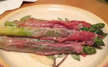 Ricetta asparagi al prosciutto crudo
