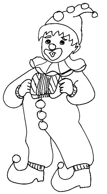 Bambino vestito da clown cose per crescere for Pagliaccio da disegnare