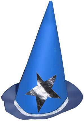 Come fare un cappello da stregone 9546945fcd79