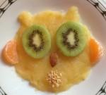 Un gufo di frutta