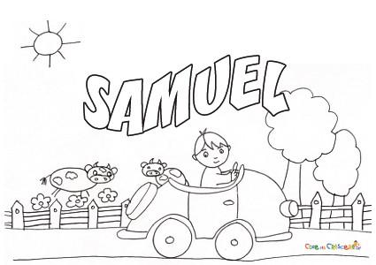 Samuel - Bambino samuel pagina da colorare ...