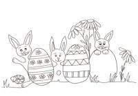 Pasqua Lavoretti Uova Di Pasqua Addobbi Disegni Da Colorare