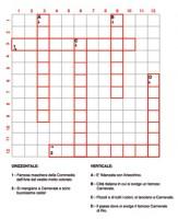 Cruciverba carn schema for Cruciverba per bambini di 8 anni