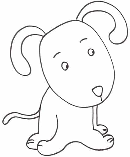 Cani Da Disegnare Facili Foto Di Cani Facili Da Disegnare