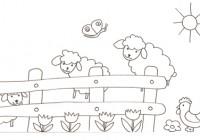 Disegni Di Pecore E Agnelli Da Colorare Immagini Di Pecore E