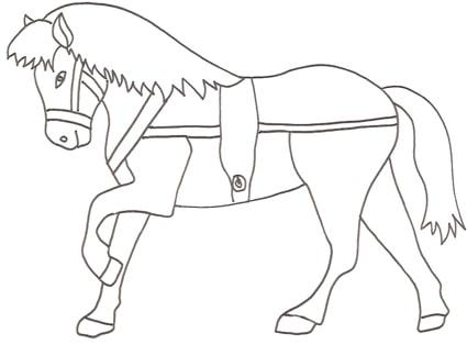 Studiamando liberamente la settimana di san martino for Immagini di cavalli da disegnare