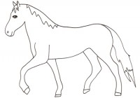 Disegni di cavalli da colorare immagini di cavalli da for Disegni da colorare di cavalli