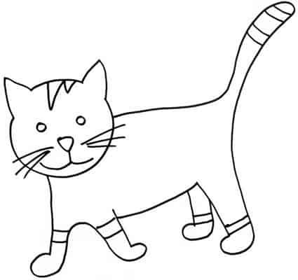 Disegno Di Gatto Tigrato Cose Per Crescere
