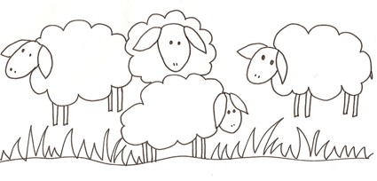 Pecore E Agnelli Da Colorare Cose Per Crescere