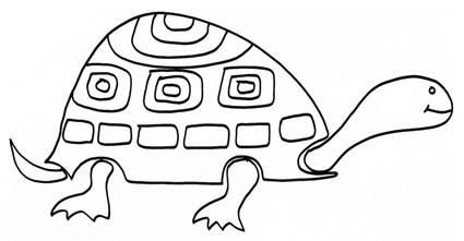 Tartaruga Geometrica Da Colorare Cose Per Crescere