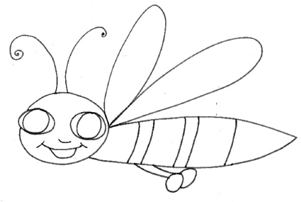 Disegni per bambini zanzara