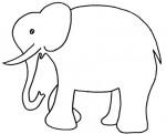 Disegno di un elefante