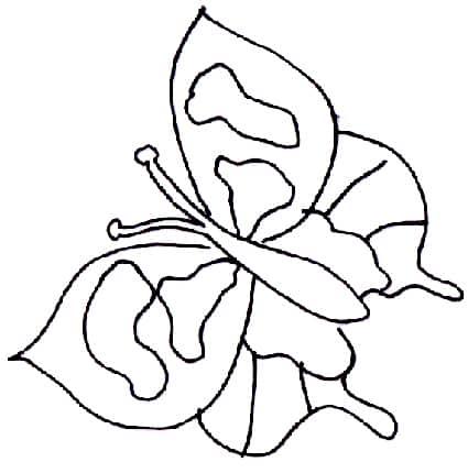 Farfalla geometrica - Cose semplici da cucinare ...