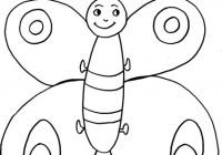 Disegni Di Farfalle Da Stampare Gratis E Da Colorare Per Bambini
