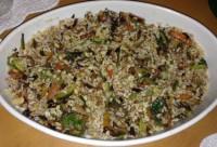 insalata riso verdure