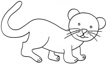 Leoncino - Cucciolo da colorare stampabili ...