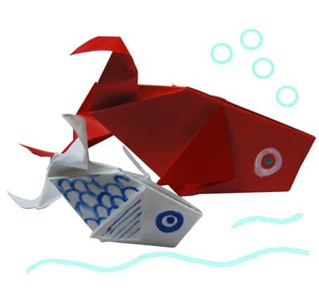 Origami Come Fare Un Pesce Origami Per Bambini