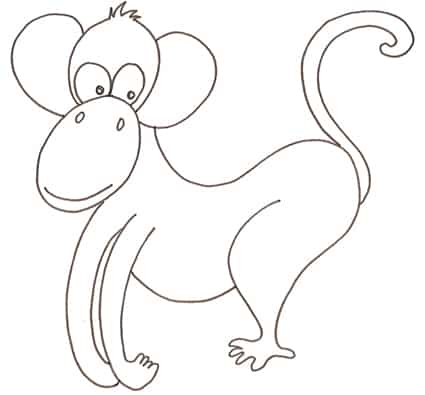 Disegni di animali della giungla da colorare for Disegni da colorare animali della foresta