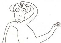 Disegni Di Scimmie Per Bambini Cose Per Crescere